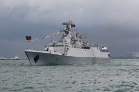 BNS Shadhinota from the Bangladesh Navy