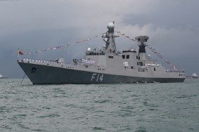 UMS Sin Phyu Shin from the Myanmar Navy