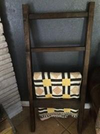 Quilt/Blanket Rack Easy DIY