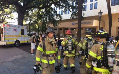Kitchen Fire Prompts Evacuation at Hyatt Hotel