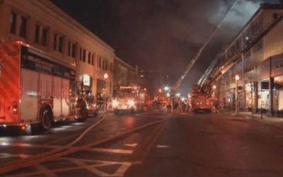 Fire at Chef Antonio Park's Westmount Restaurants