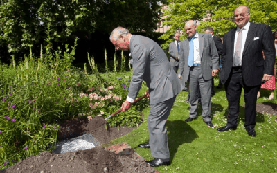 Prince Charles Showcases Wool Performance