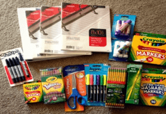 Supplies for Project Shine – Partnering with La Luz Elementary
