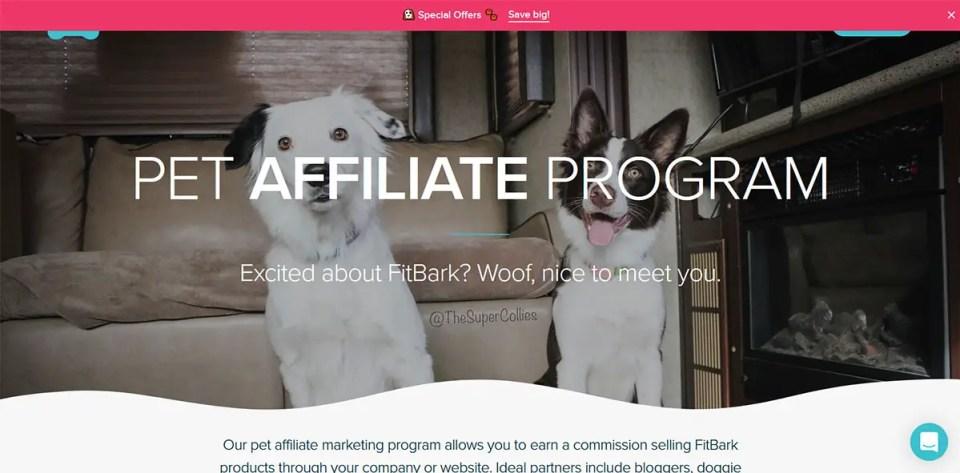 FitBark Pet Affiliate Program