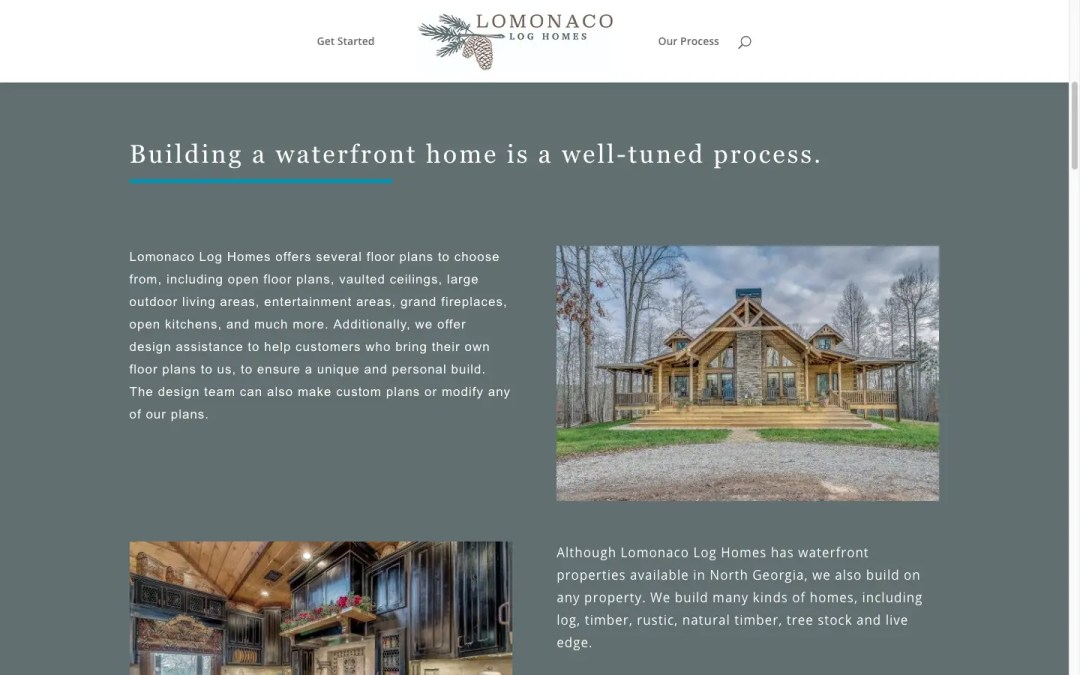 building a waterfront home process