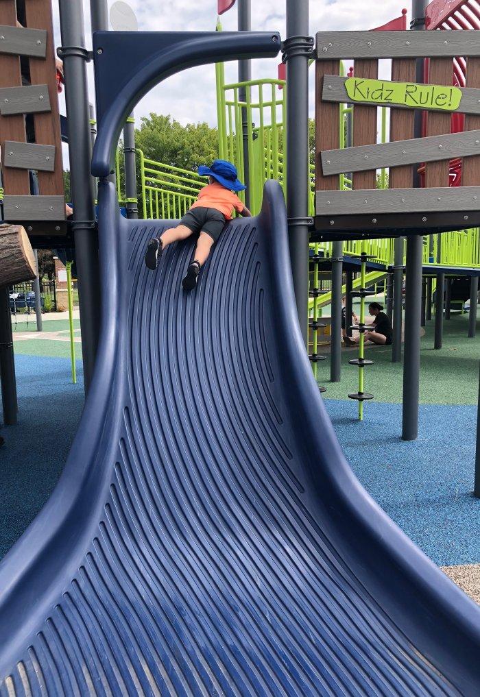 Toddler Park Slide Summer Money Diary