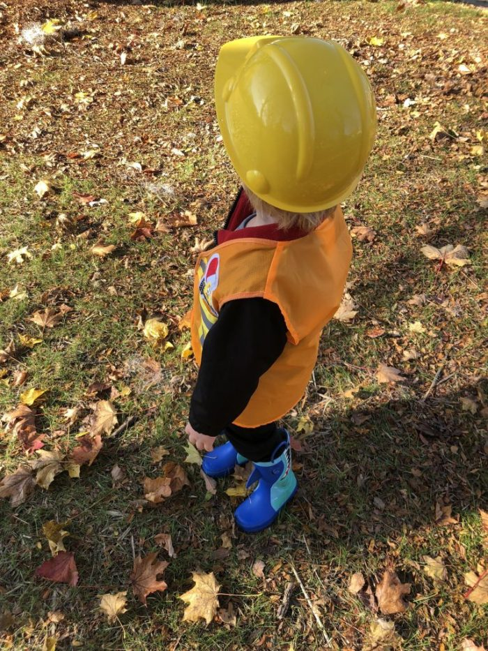 $3 Halloween Construction Worker Costume