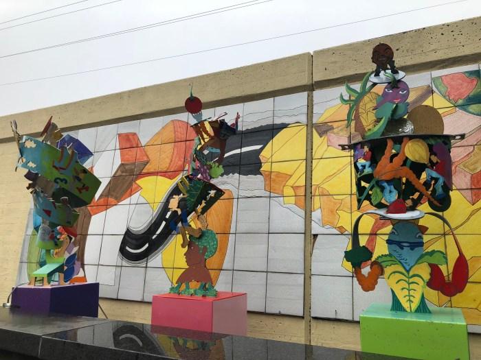 Free Art in NOLA by Riverwalk