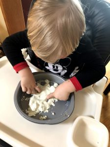 DIY Silky Play Dough Cornstarch Conditioner
