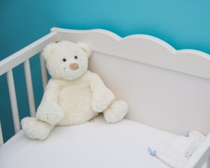 Teacher Maternity Leave Prepare Financially Teddy Bear in Crib