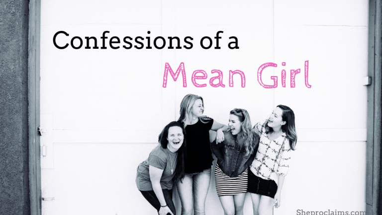 Dealing with mean girls: Confessions of a Mean Girl