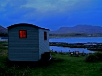 Dusk at the Shepherd's Hut, Kilchoan © Dave McFadzean
