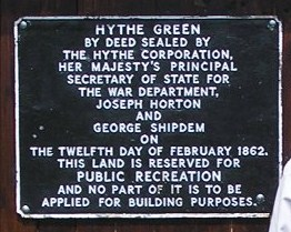 Hythe Green Covenant