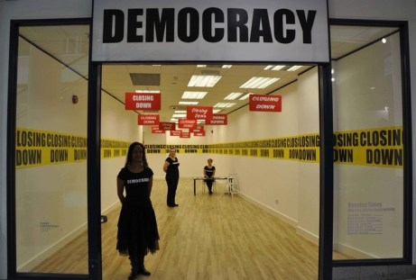 closing down democracy