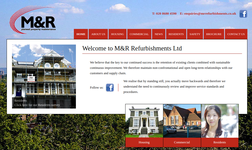 Part 2: M & R Refurbishments Ltd.