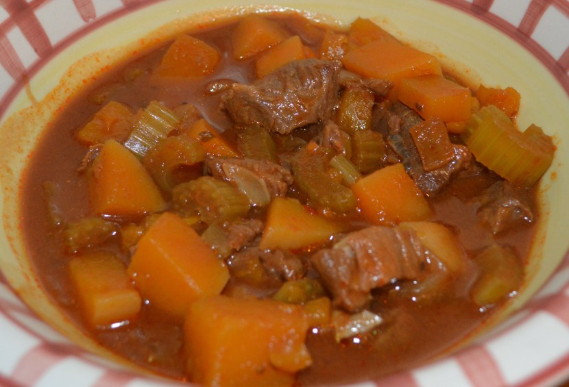Venison Stew and Vegetables