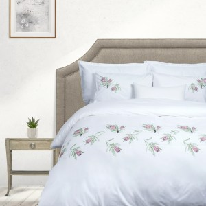 Sheraton Protea 200TC Embroidered Duvet Cover Set