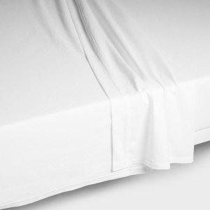 Sheraton 600TC Egyptian Cotton Flat Sheet in White