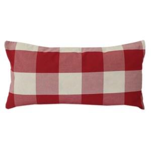 Sheraton Ruby Check Scatter Cushion 60 x 30cm