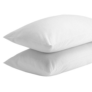 Sheraton 100% Brushed Cotton Winter Pillowcase Pair - White