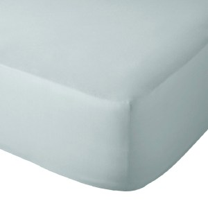 Sheraton 200TC 100% Cotton Percale Fitted Sheet - Duck Egg