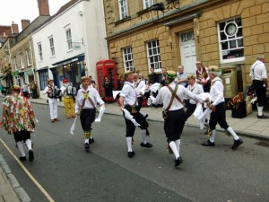 Wessex Morris Men, Cheap Street, Sherborne