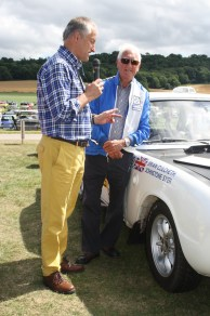 Rally driver Brian Culcheth interviewed by Peter MacDonald
