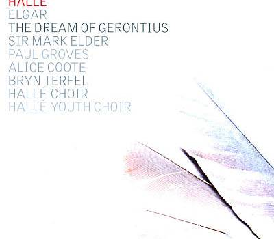 CD Cover - Hallé - Elder - Gerontius