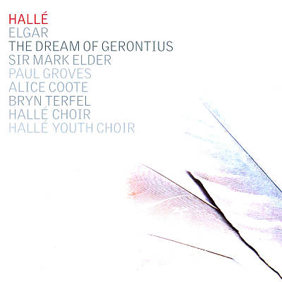 CD Cover - Hallé - Elder - Gerontius