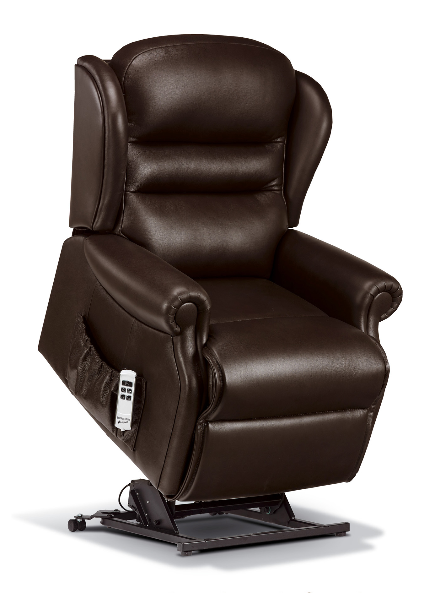 Electric Reclining Chair Ashford Standard Leather Electric Riser Recliner