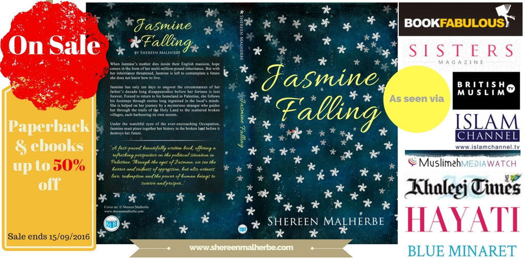 Jasmine Falling book sale marks a new chapter