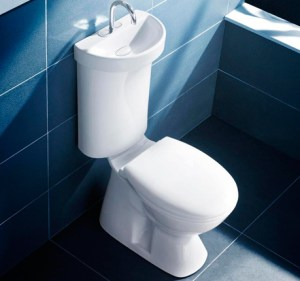 Caroma Profile Smart 305 Toilet with built-in sink