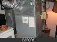 A Gibson Natural Gas Furnace Install | Sheridan Air