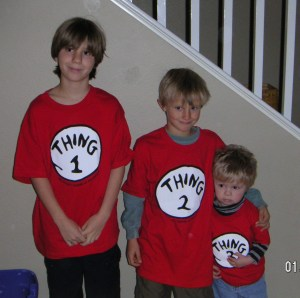 My 3 things.  Back in the day!