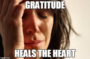 Gratitude Heals the Heart
