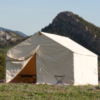 Canvas Wall Tent | Making Life Out West Better