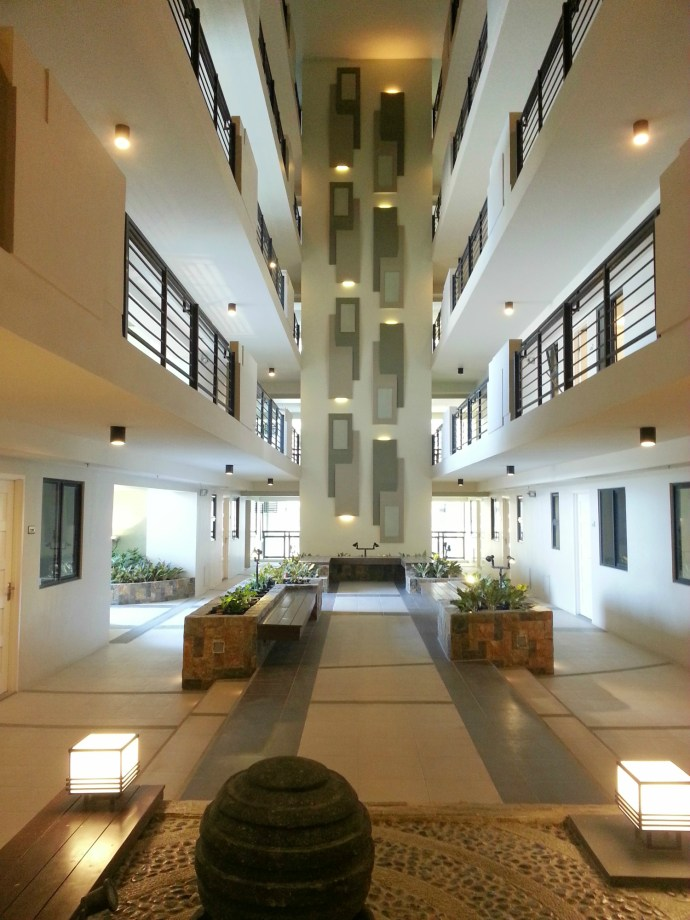 Atrium  Sheridan Towers