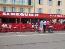 Senequier for breakfast.