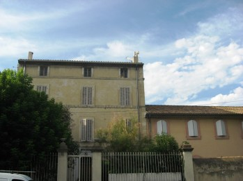 Orange - Provence architecture typical of the area