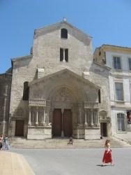 Arles - church in the main square