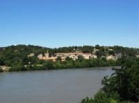 On the way to Villeneuve-Les-Avignon