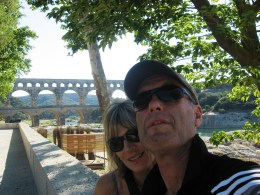 Pont du Gard - we were there...