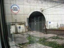 UK -Entering the Chunnel