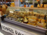 Cheeses in St Cyprien