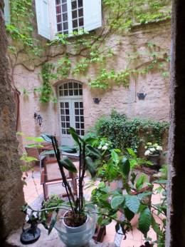 Patio at Hotel De Vigniamont