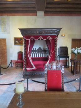 Da Vinci's bedroom at Clos-Luce