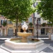 Frejus water fountain