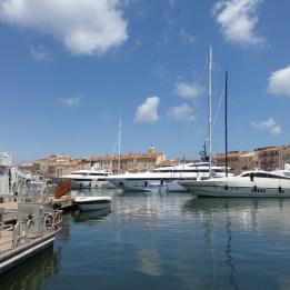 Still waters in St Tropez