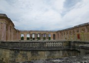 View to the Pink Marble Peristyle of the Grand Trianon