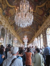 The crush in the Hall of Mirrors